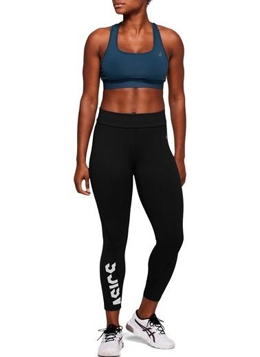 Asics Asics ESNT 7/8 Tight Siyah-Beyaz Kadın Tayt Siyah